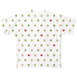 うえはんのAlice in Wonderland Full graphic T-shirts