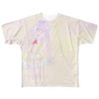 甘美ちゃんTシャツ Full graphic T-shirts