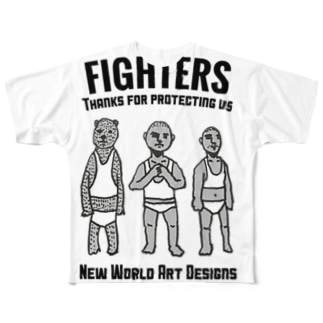 FIGHTERS Full graphic T-shirts