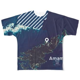鹿児島県 奄美市 Tシャツ 両面 Full graphic T-shirts