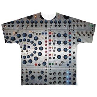 シンセサイザー Full graphic T-shirts