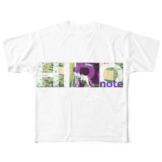 Roji-FRANCE Full graphic T-shirts