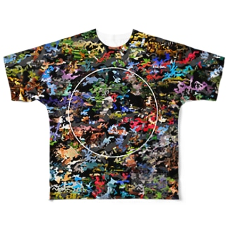 日本の風景 Full graphic T-shirts