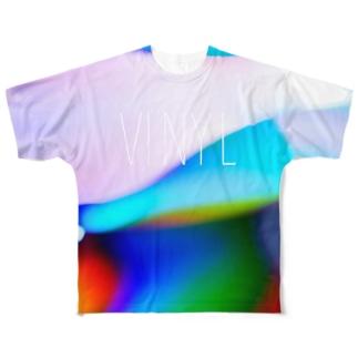 ヴァイナル Full graphic T-shirts