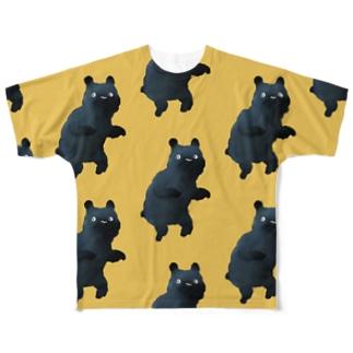 なんやクマ Full graphic T-shirts