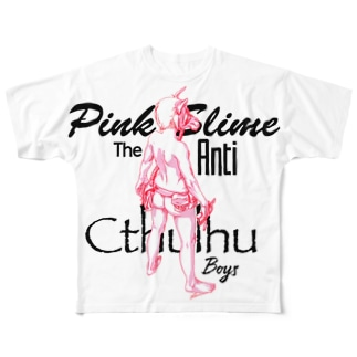 from Pink Slime Dark Horse 仁王立ち フルグラフィックTシャツ
