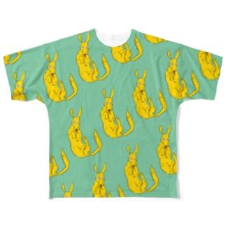 めっちゃイヌ Full graphic T-shirts