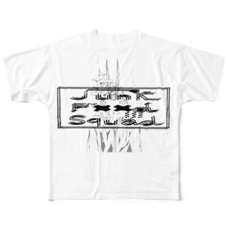 デザインロゴTee6 Full graphic T-shirts