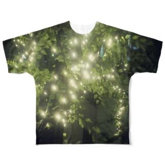 電飾 Full graphic T-shirts