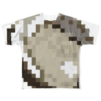 岩牡蠣 フルグラフィックTシャツ