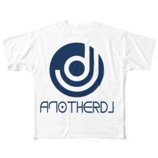 yoshiopcのanotherDJ_BLUE Full graphic T-shirts