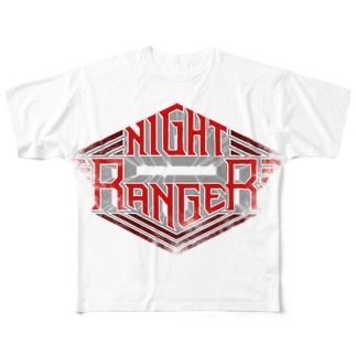 NIGHT RANGER Full graphic T-shirts