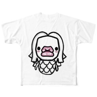 あfdfだふぁt Full graphic T-shirts
