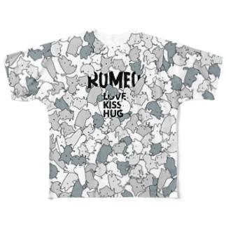 SHOP ROMEO のROMEOnekokamo Full graphic T-shirts