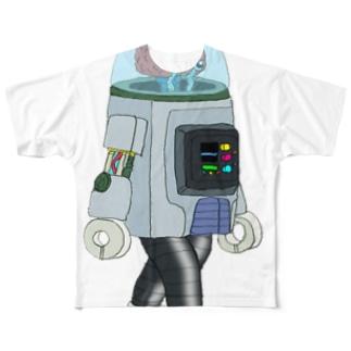 ロボ Full graphic T-shirts