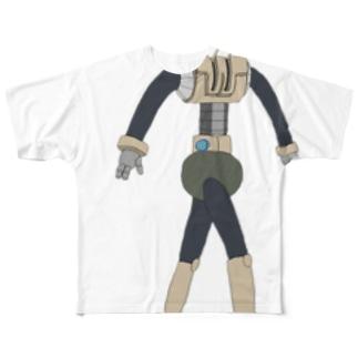 ロボットくん Full graphic T-shirts