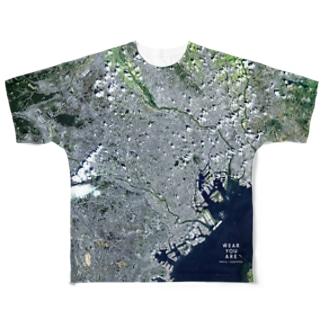 東京都 杉並区 Tシャツ 両面 Full graphic T-shirts
