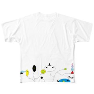 ミラくるん Full graphic T-shirts