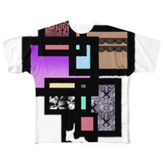 M✧Lovelo(エム・ラヴロ)のパネル Full graphic T-shirts