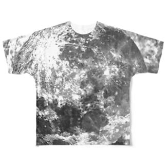 エンボスハイライトTシャツ Full graphic T-shirts