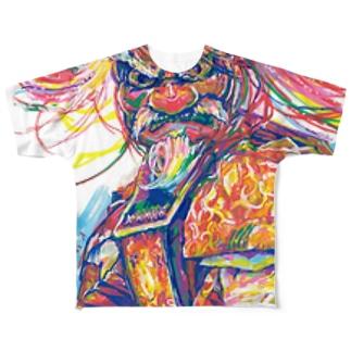 KAGURAD Full graphic T-shirts