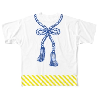 勝って兜の緒を締めよ Full graphic T-shirts