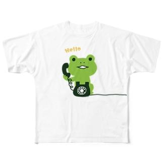 かえるコール Full graphic T-shirts