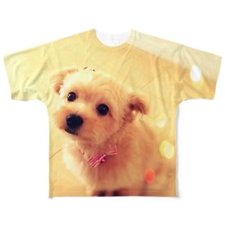 キラキラポメプーのココ Full graphic T-shirts