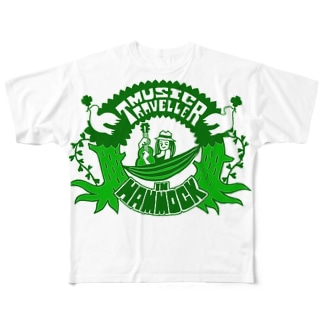 MUSIC TRAVELLER Full graphic T-shirts