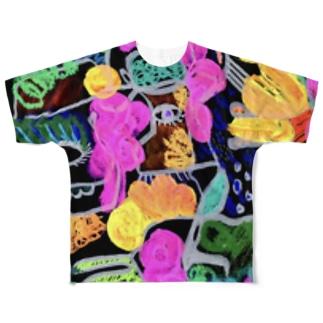 この着物は譲れないの Full graphic T-shirts