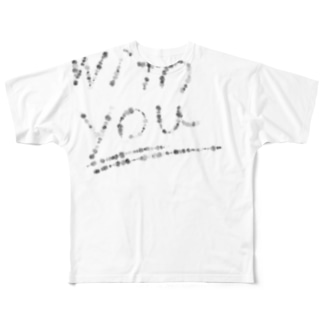 with you Full graphic T-shirts