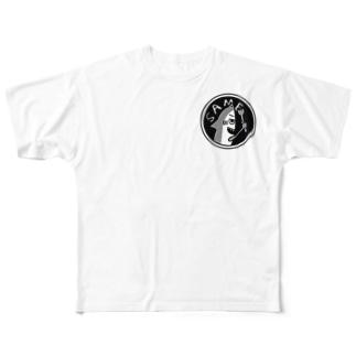 jokeboxのサメちゃんbrother's Full graphic T-shirts