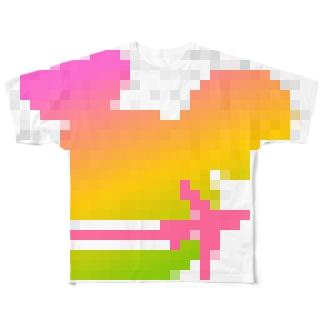 tdrnavi フルグラフィックTシャツ