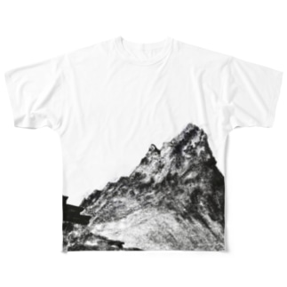 槍の夜空 Full graphic T-shirts
