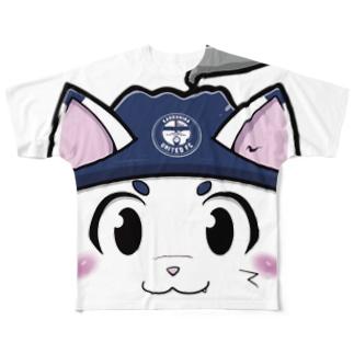 鹿児島ユナイテッドFC公式グッズショップの【KUFC】 ゆないくーフルグラフィック T-SHIRT Full graphic T-shirts