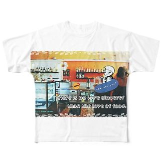 Pixlast(ルティ) カフェver. Full graphic T-shirts