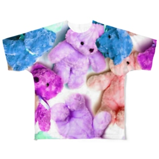 Bear Bear  Full Graphic T-Shirt