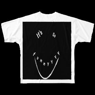 GAKU style のfunny:) Full graphic T-shirts