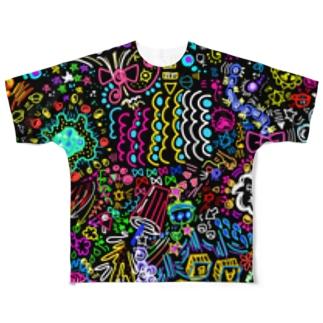 〇〇〇 Full graphic T-shirts