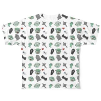 ゾンビパーティー Full Graphic T-Shirt
