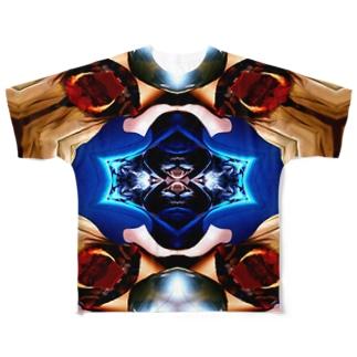 惑星GUMBIYO Full graphic T-shirts