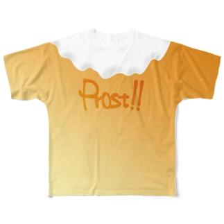 乾杯したいTシャツ Full graphic T-shirts