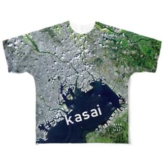 東京都 江戸川区 Tシャツ 両面 Full graphic T-shirts