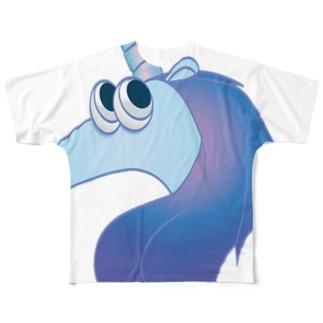 ユニコーン Full graphic T-shirts