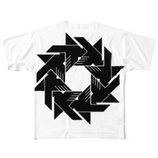 KAIZER STRONG BAHT (Windmill) Full graphic T-shirts