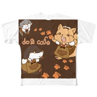 どっぐかふぇ! Full graphic T-shirts