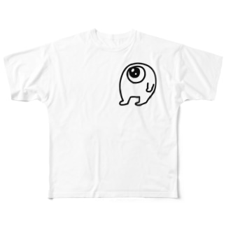 どどめきくん Full graphic T-shirts