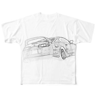 スープラちゃんver.4 Full graphic T-shirts
