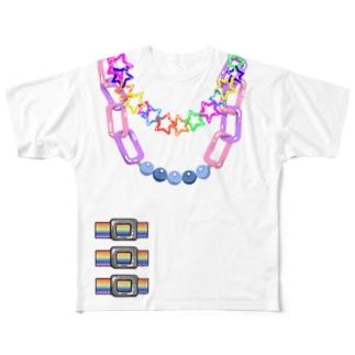 デコラTシャツ Full graphic T-shirts