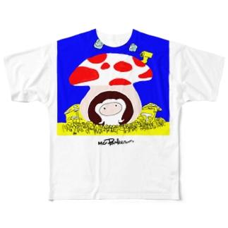 モンパルロ(地球環境保護キャラクター) Full graphic T-shirts